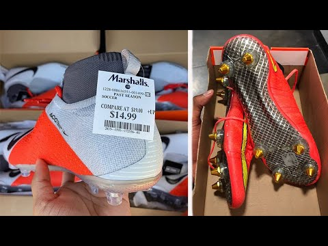 Finding INSANE Soccer Cleat Deals At Department Stores | Burlington, Ross, Marshall's