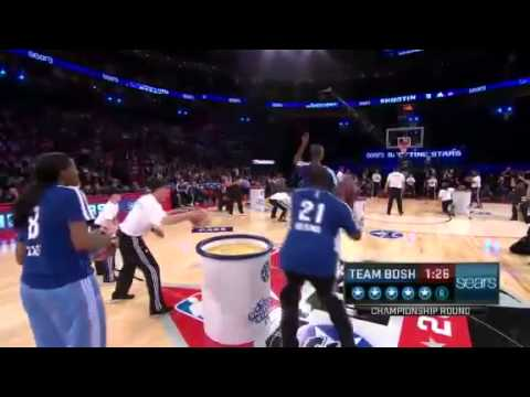 Team Bosh Win 2013 Sears Shooting Stars NBA All-Star