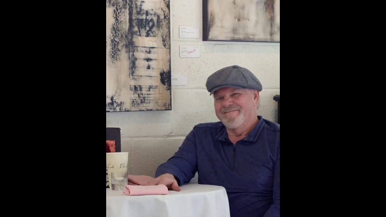 Artist spotlight Vern Rollin III at Ma Fille Art Gallery