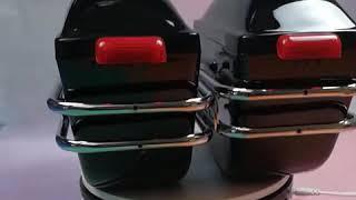 오토바이 알루미늄 사이드 백 박스 리어백 보조가방