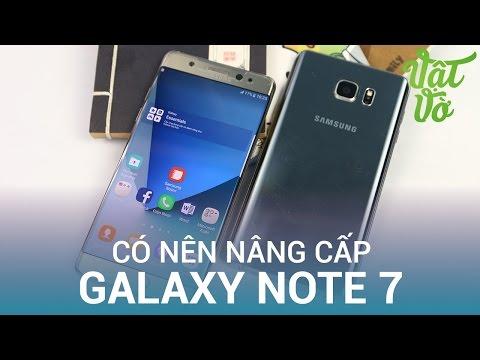 Vật Vờ| Đây là những điểm đột phá từ Samsung Galaxy Note 5 lên Galaxy Note 7