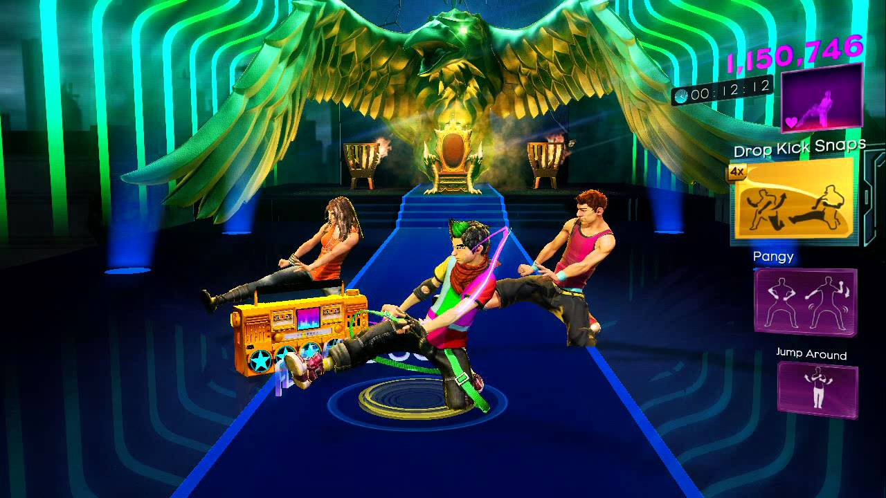Dance Central 3 DLC   Hey Baby (Drop It To The Floor) HARD   Pitbull Ft.  T Pain   Gold Stars   YouTube