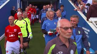 England v Italy Over-50s & Over-60s Walking Football International Matches