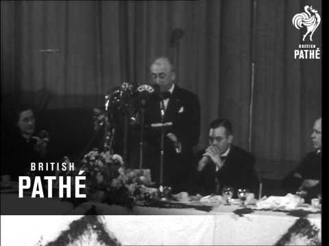 Byrnes Making Speech (1946)