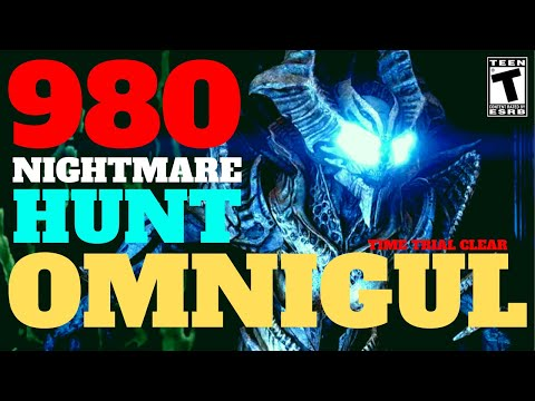 OMNIGUL Time Trial - 980 Master Nightmare Hunt - DESTINY 2 PS4 SHADOWKEEP (NO DIVINITY)