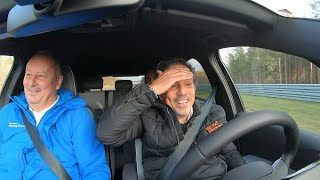 Volkswagen ID.3 test-drive on a race track and new details of the car