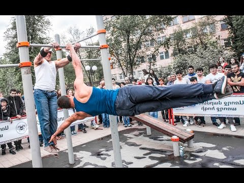 Street Workout Challenge 2016 (Street Workout Armenia)