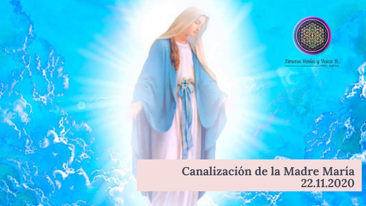 Canalización - Mensaje y Bendición de la Madre María