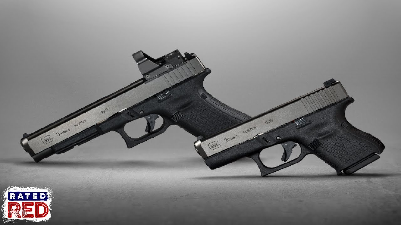 Glock 26 And 34 Mos Get Updated To Gen 5 Standard Youtube