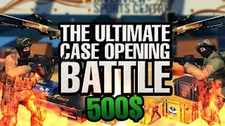 CS:GO ULTIMATE CASE OPENING BATTLE! 500$+ Skin! (Cobblestone Souvenir packages) streaming