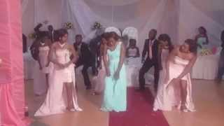 Best Bridal Party Dance, Zambian Wedding
