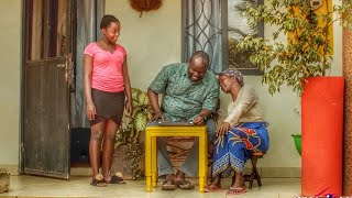 Good cop, Bad cop. Kansiime and Gerald attempt at disciplining Praise. African comedy