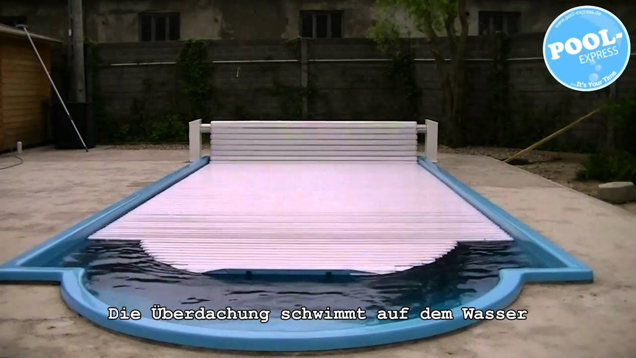 elektrische schwimmbad berdachung pool berdachung. Black Bedroom Furniture Sets. Home Design Ideas