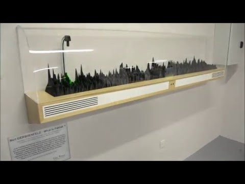 """0 - 3D-gedrucktes Spektrogramm erklärt was ein """"FabLab"""" ist"""