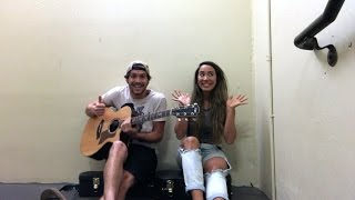Скачать Alex And Sierra Animals Stairwell Sessions