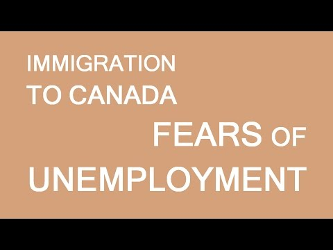 Immigration, unemployment and a bit of personal story. LP Group Canada