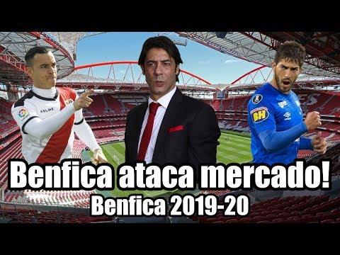 Benfica ataca mercado! | Rumores de mercado 2019-20