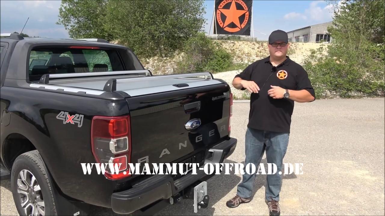 Quertrager Fur Ford Ranger Mountain Top Rollo Youtube