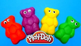 Play-Doh Teddy Bear With Surprise Egg Toys