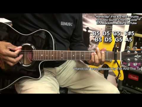 HandClap -Fitz And The Tantrums Chords Guitar Cover  Lesson Link - I Can Make Your Hands Clap