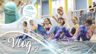 MERMAID VLOG #2 | Cours de Sirène avec Lexie