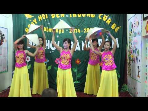 Múa Quê Tôi -Cô Giáo Mầm Non Hoa Tuổi Thơ [Trung Thu 2014]