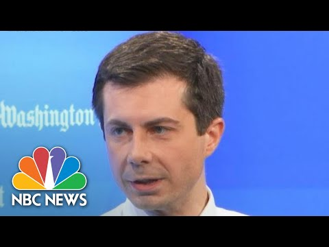 Pete Buttigieg: Donald Trump Used 'Status To Fake A Disability,' Dodge Vietnam Draft | NBC News
