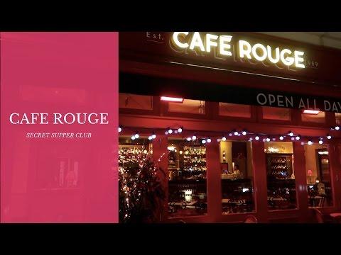 CAFE ROUGE SECRET SUPPER CLUB { Emily Jayne }