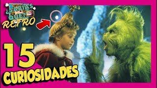 15 Curiosidades de EL GRINCH - Retro #25 | Popcorn News