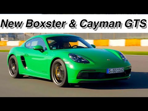 New Porsche Boxster & Cayman GTS 4.0 Review