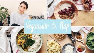 Vegán életmódváltás + receptek |  VEGANUÁR kihívás 6. nap