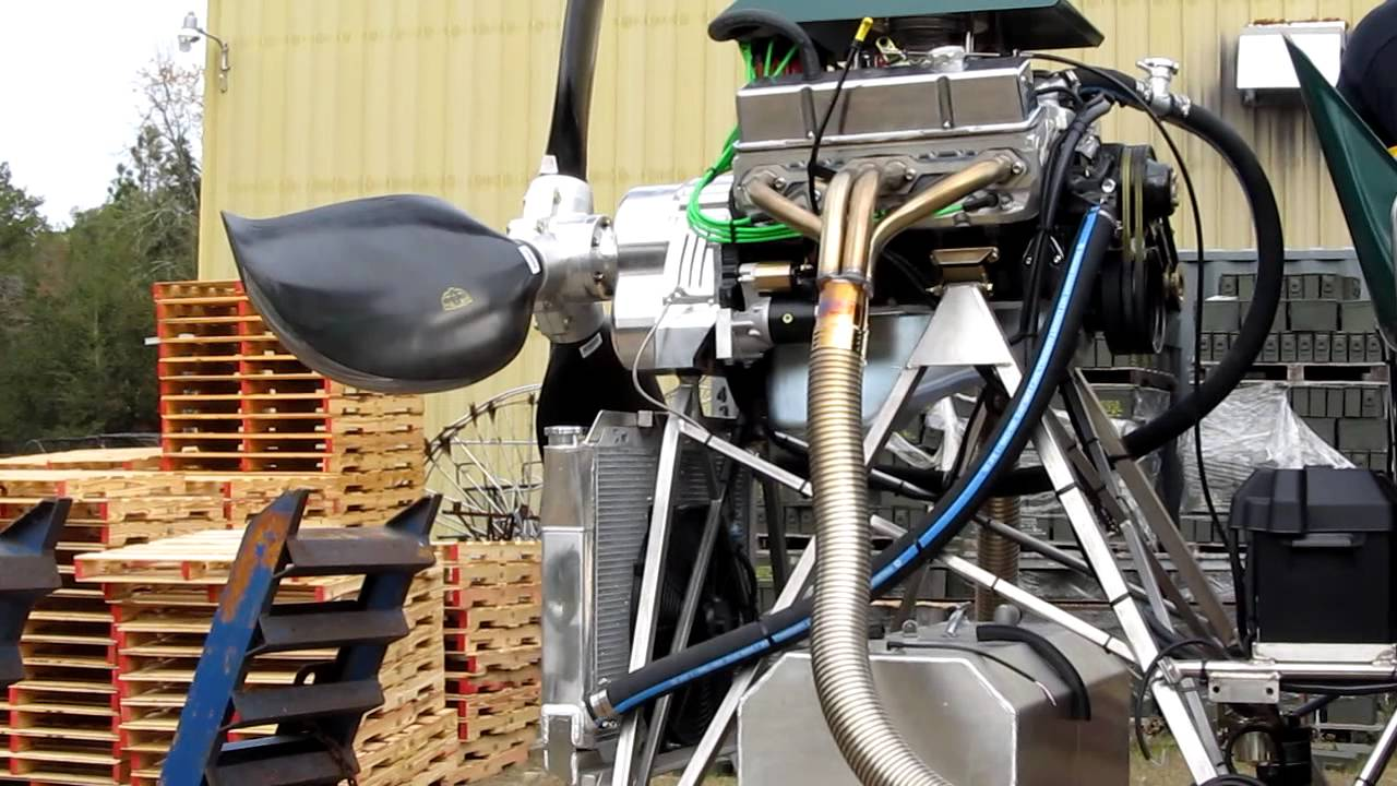 GTO Airboats preview of the new OX Drive Reduction unit