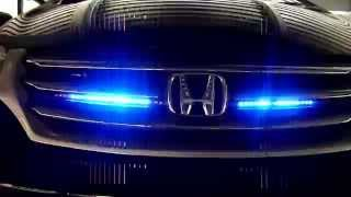 22 12v rgb smd led strip bar blue color scanning light kit remote for car auto truck wehicle