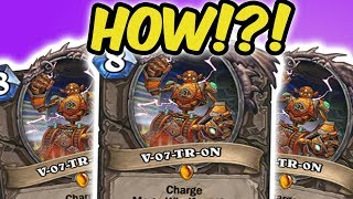 WINNING WITH 3X V-07-TR-0N! | QUEST MAGE | HEARTHSTONE | DISGUISED TOAST