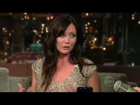 Shannen Doherty  on David Letterman