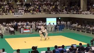 11日 柔道女子 個人52kg 1回戦 中崎vs林田1