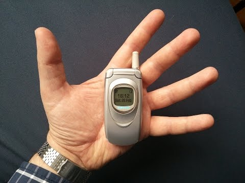 Samsung A800 - one of the smallest phones ever built