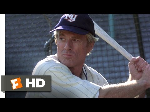 The Natural (3/8) Movie CLIP - Batting Practice With Wonderboy (1984) HD