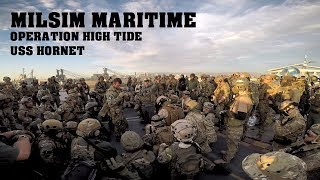 AIRSOFT BATTLE on an Aircraft Carrier! Milsim Maritime: Operation High Tide (USS Hornet)