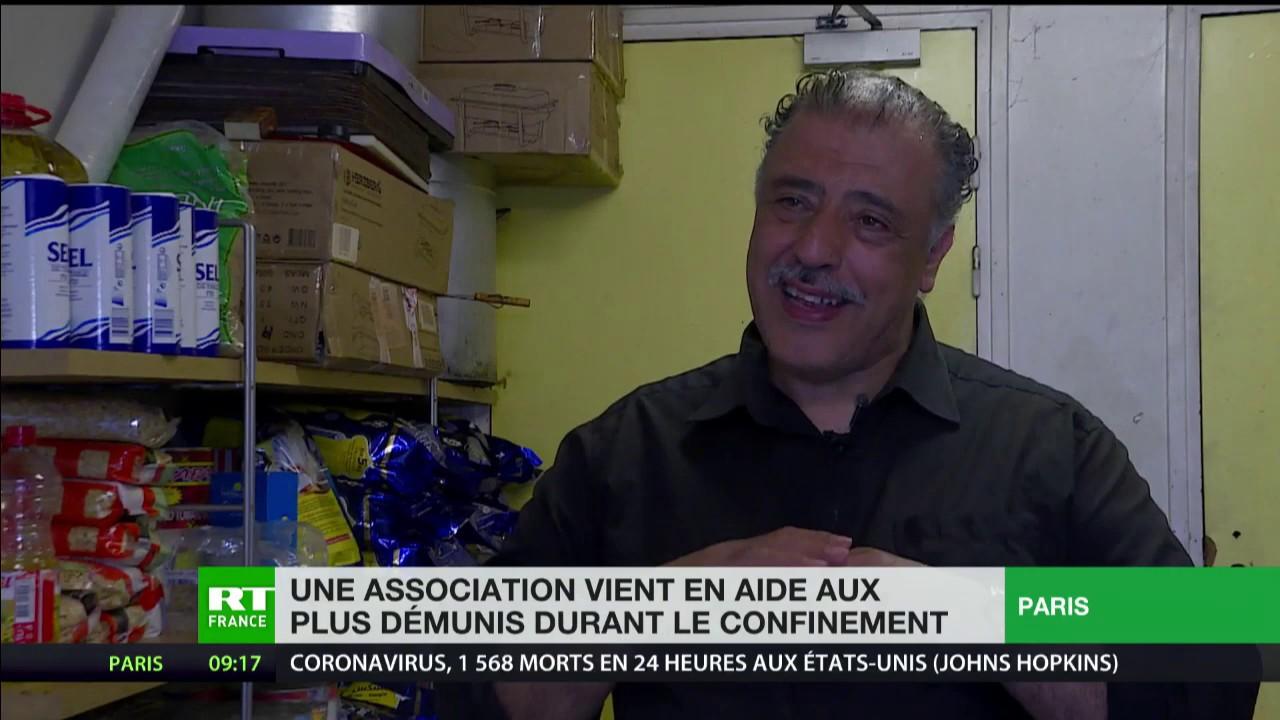 Dans le quartier de la Goutte d'Or à Paris, une association vient en aide aux plus démunis