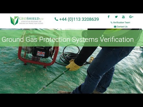 Ground Gas Membrane Testing And Verification GeoShield Independent Ground Gas Protection Validation