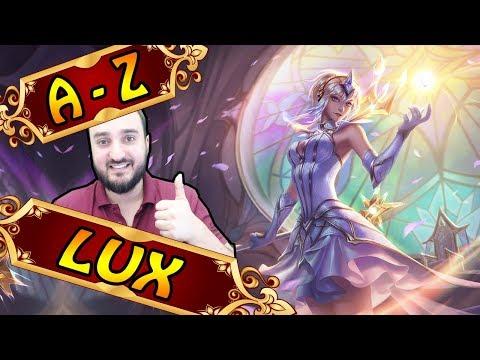 A-Z LUX SUPPORT, bestes Lux Game (es hat geklappt xD) | League of Legends
