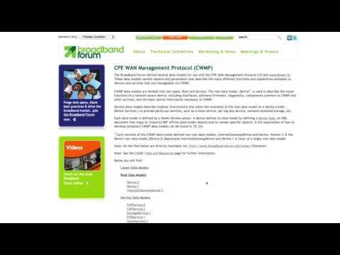 QA Cafe TR-069 Training Series: Navigating Broadband Forum Data Models