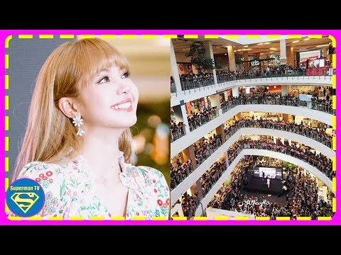 BLACKPINK Lisa Was Touched To Tears With A Heartwarming Fan Project Prepared At A Event In Thailand