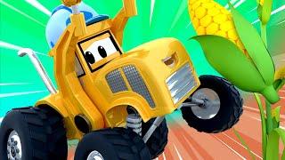 Monster Trucks for children - The maze    Monster Trucks Monster Town