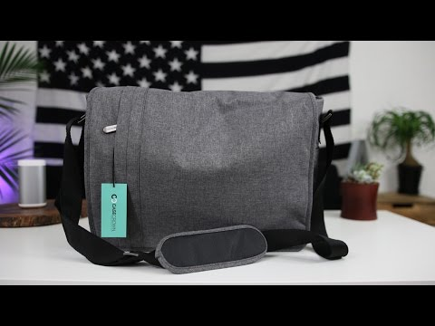What's in My Tech Bag - CaseCrown Campus  Messenger Review