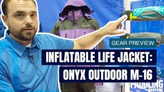 Inflatable Life Jacket: Onyx Outdoor M-16