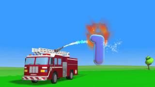 Учимся Считать С Пожарной Машинкой
