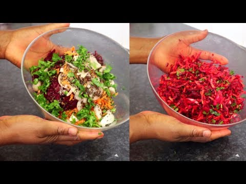 CARROT & BEETROOT SALAD! How To |Cook With Me