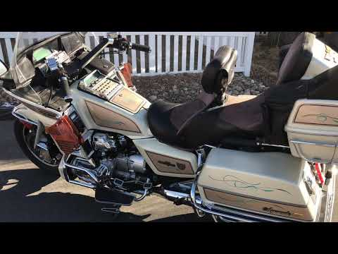 1986 GL1200 SEI Goldwing Aspencade 12345 Parting out March 2019 in Colorado